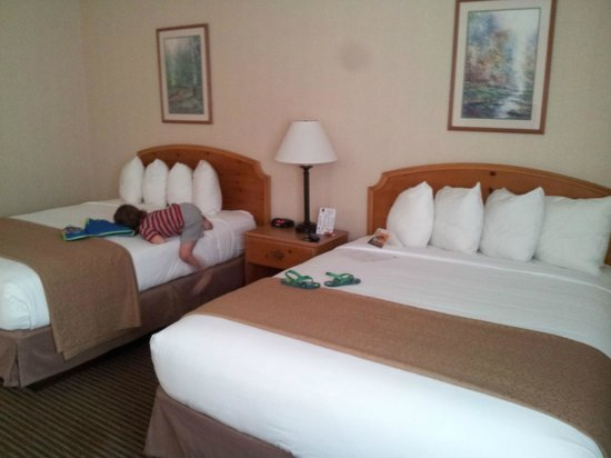 Quality Inn Oakwood: Different angle of Room 144