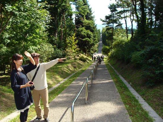 Torapisto Shudoin Baiten: この道を行くと修道院