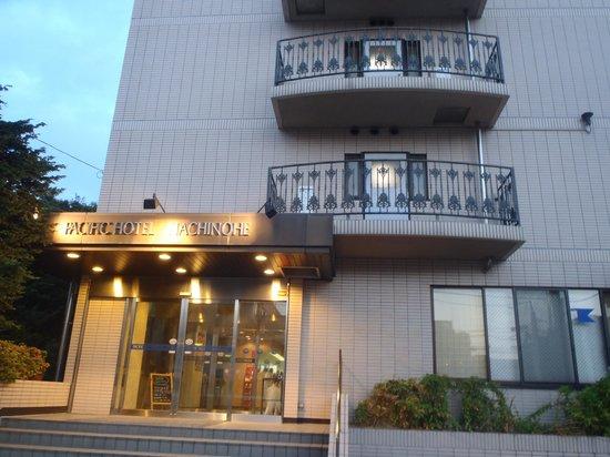 Pacific Hotel Hachinohe: 外観
