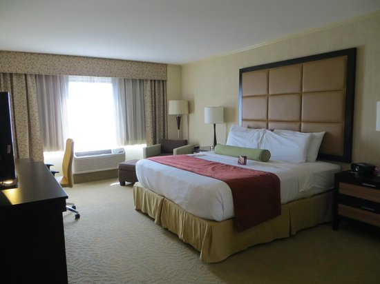 Crowne Plaza Wilmington North: King room