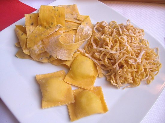 Регион Муджелло, Италия: Pappardelle, tagliatelle e tortelli