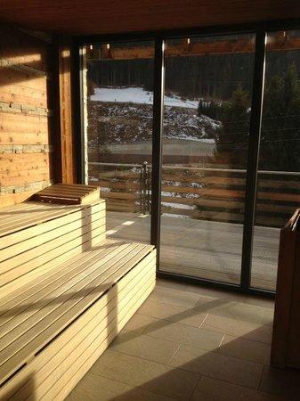 Alpen Life Hotel Someda: sauna