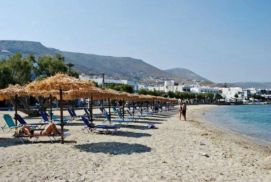 Eleni Rooms: La spiaggia di Livadia!