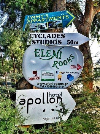 Eleni Rooms: E a pochi passi Eleni!