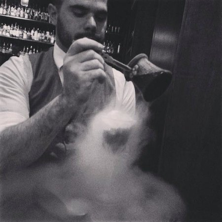 Eau De Vie: Smoking cocktail