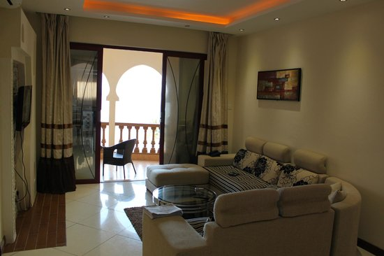 Eden Beach Apartments & Spa: heerlijke ruimte
