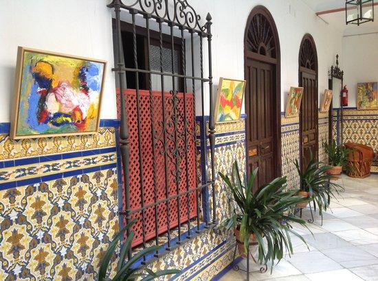 Casa de los Azulejos: Patio
