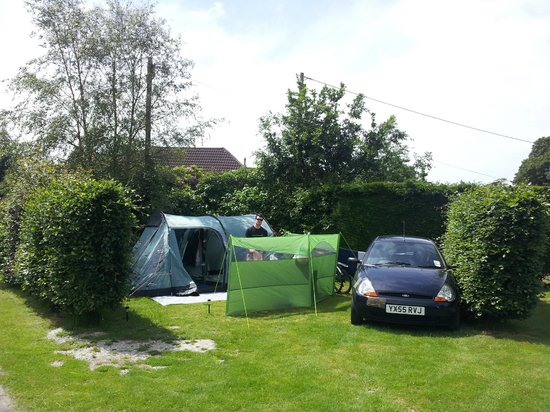East Crinnis Holiday Park: Our pitch