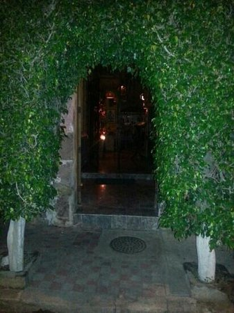 La Fonda de la Noche: from the outside.  Very quaint!