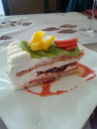 L'Amaranthe : dessert maison