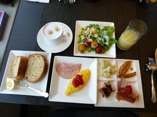 โรงแรมอินเตอร์คอนติเนนตัล โตเกียว เบย์: クラブラウンジの朝食