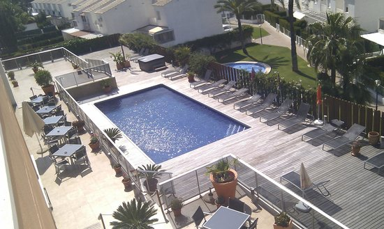 Apartamentos Albir palace: View from the roof