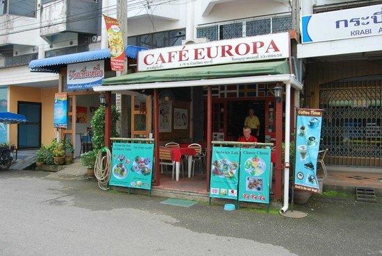 Cafe Europa - Krabi: Danska delikatesser i Krabi