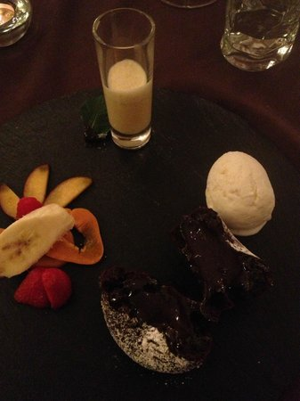 Bick Stuff: Dessert - perfectly cooked chocolate pudding