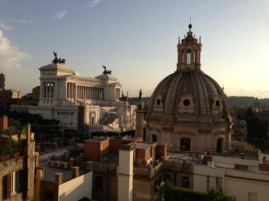 Residenza Torre Colonna: Rooftop Terrace Views