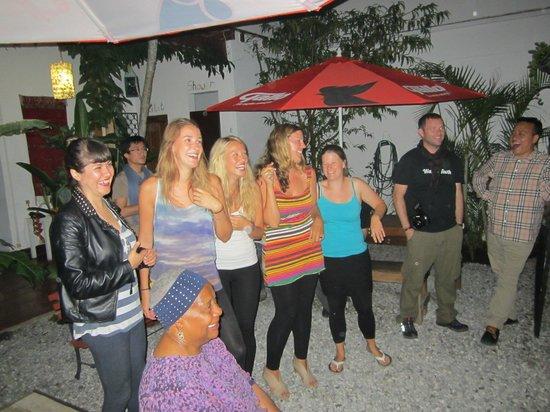 Mananas Hotel: immer gute Stimmung