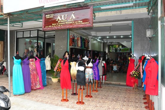 Au A tailor shop Hoi An