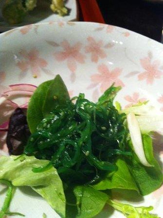 Hikari Japanese Restaurant: seaweed salad
