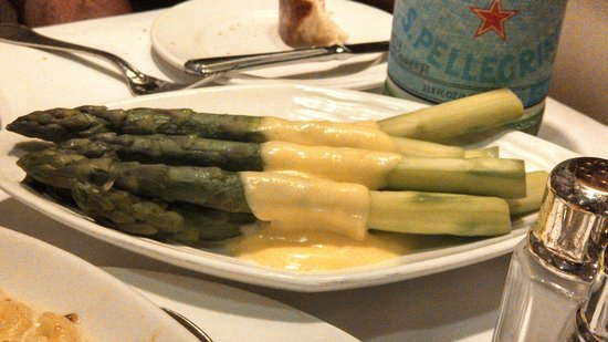 Steakhouse 55: asparagus