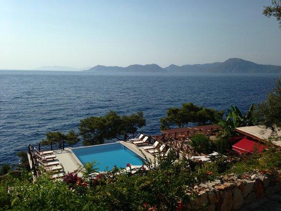 Zakros Hotel Lykia: Infinity pool @ Zakros