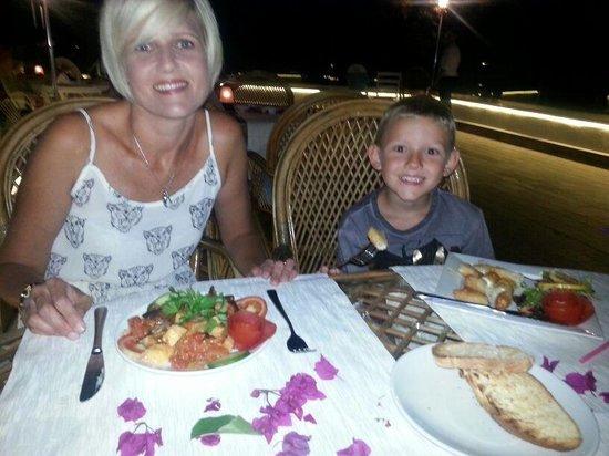 Hotel Morina: Fabulous food!