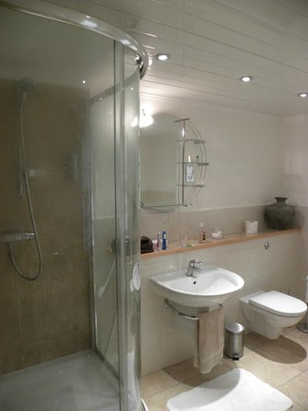 Gringley Hall: Modern bathroom