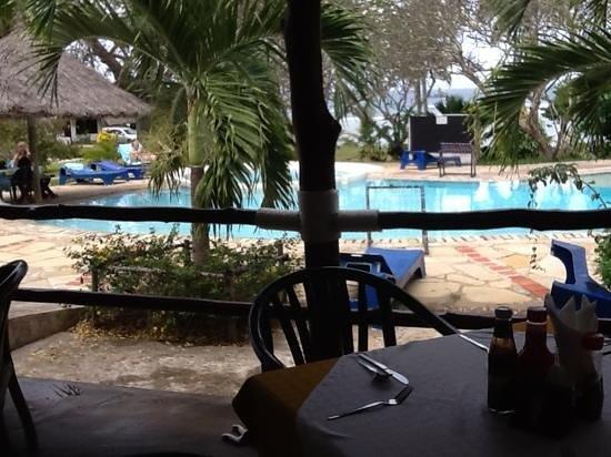 Hillpark Tiwi: taken from the restaurant