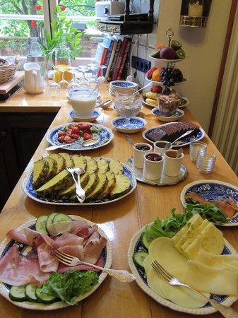 Burg Bruch: Frühstücksbuffet