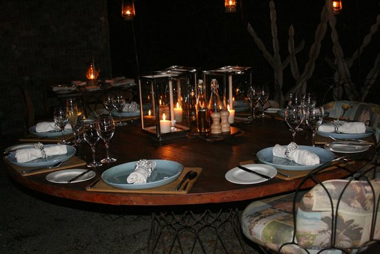 andBeyond Phinda Homestead : Dinner in the Boma