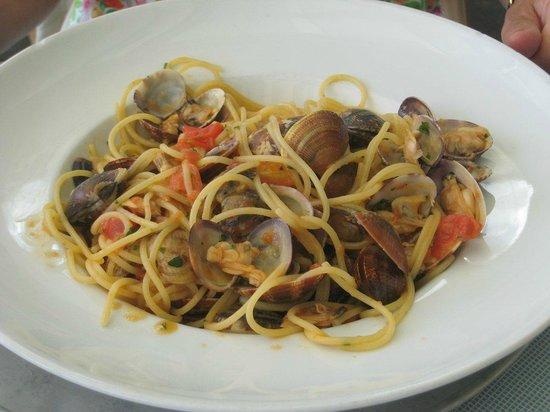 Ristorante Murtarol: Gli spaghetti alle vongole