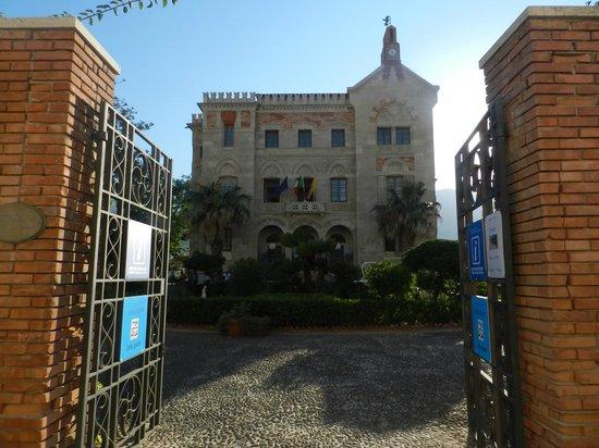 Palazzo Florio : Il palazzo