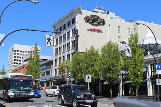 The Strathcona Hotel: Estrutura antiga