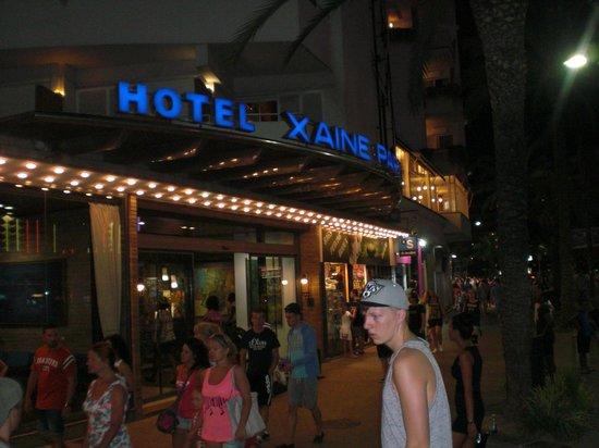 Xaine Park Hotel : Hotel Front