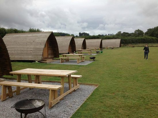 Secret Valley: 5 person wigwams