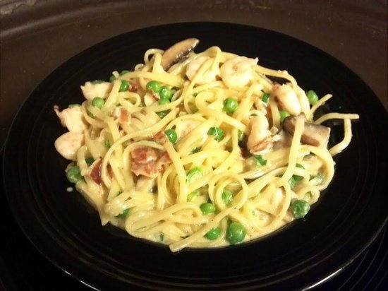Portside Grill: Shrimp Carbonara