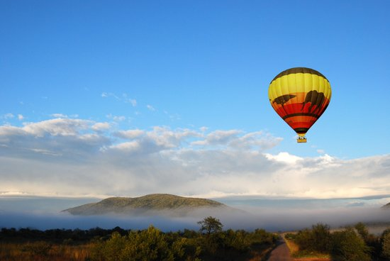 Mankwe Gametrackers Hot Air Balloon Safaris