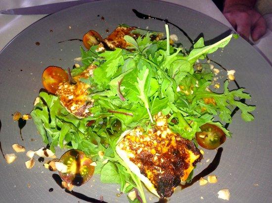 Restaurante Cafe Mencey: Ensalada de queso de cabra