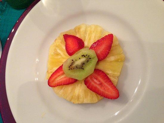 Casa de Las Bugambilias B&B: Breakfast fruit