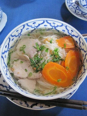 Angkor Village Hotel: Simple rice noodle soups served any time of day.