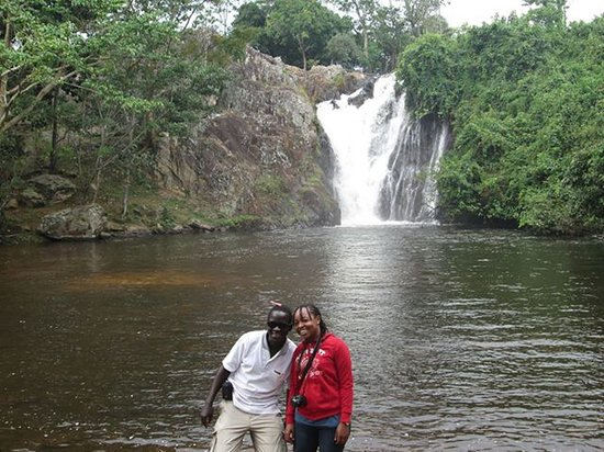 Kampala Boda Boda City Tours : Day trip to Sezibwa Falls.