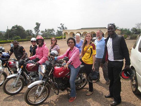 Kampala Boda Boda City Tours : On Tour!
