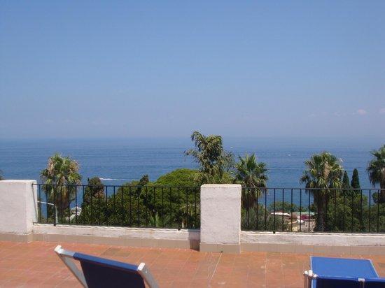 Gemma Hotel: veduta dalla terrazza privata