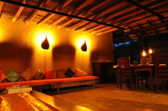 Kumbukgaha Villa: Gezamenlijke ruimte.