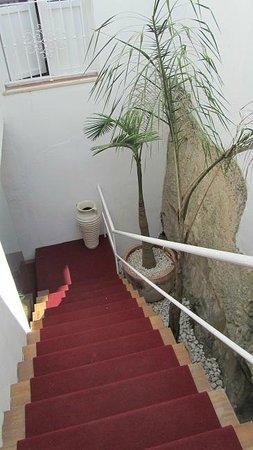 Benali Guesthouse Tarifa: Escaleras