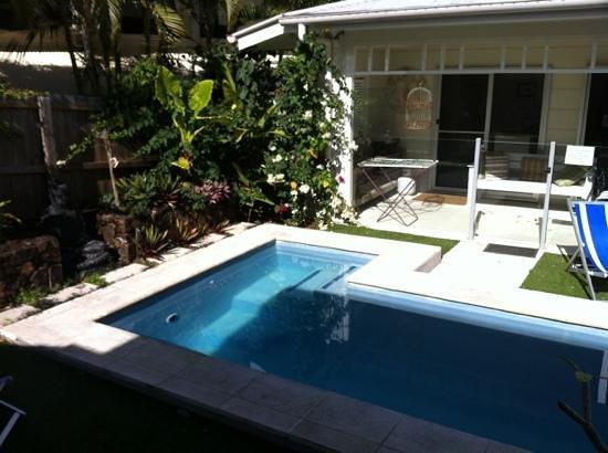 Aaman & Cinta Luxury Guesthouse & Villas: View from Aaman villa decking
