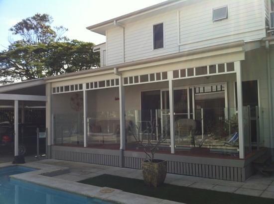 Aaman & Cinta Luxury Guesthouse & Villas: Aaman deck