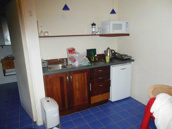 Triton Suites Motel: kitchen
