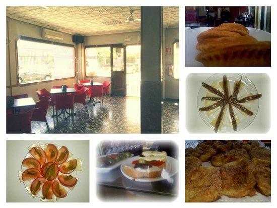 Bar El Castillo: Ejemplo de lo que podeis encontrar en este bar.