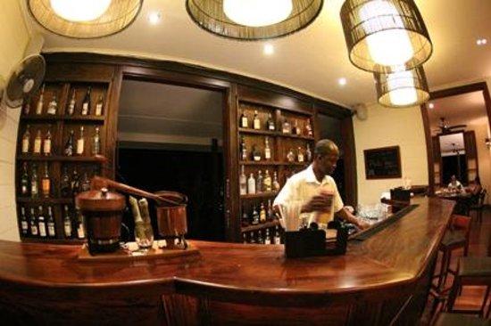 La Plaine St. Andre: The bar