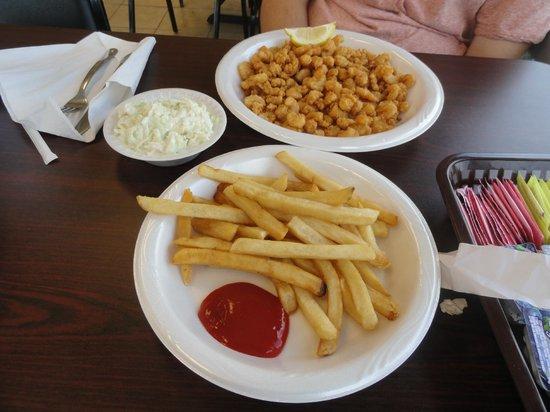 """Castaway Grill : """"Calabash Shrimp"""""""